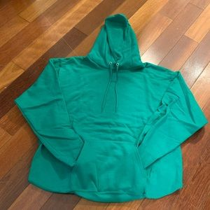 BRAND NEW! Size L Kelly Green Hoodie